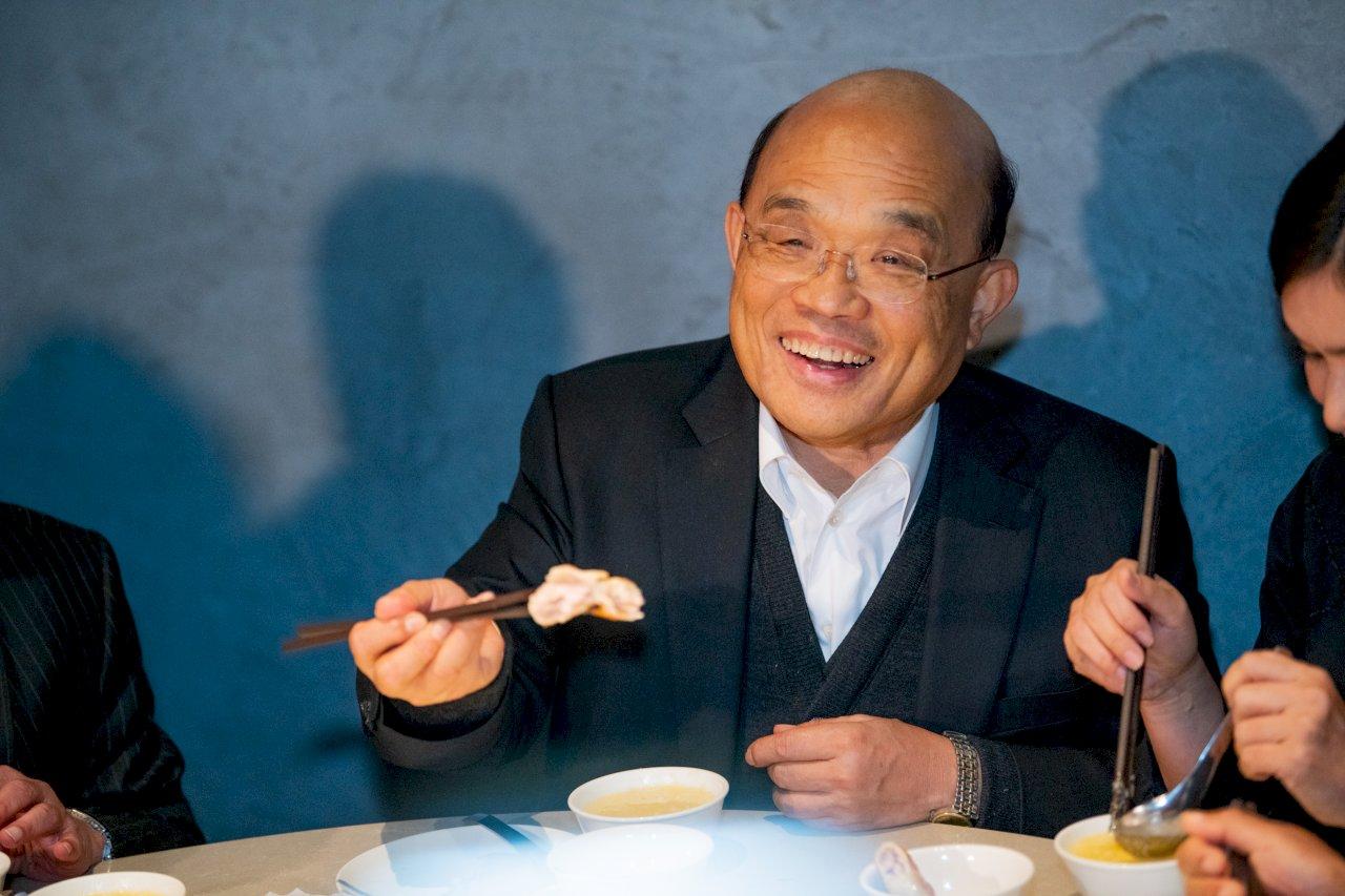 柯文哲指執政「走鐘」 蘇貞昌:防疫、經濟成長受肯定