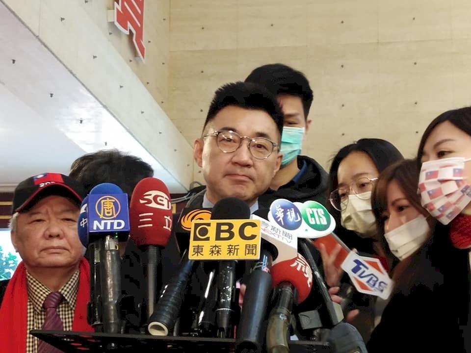 成立公教警消委員會為連任黨主席? 江啟臣:經營組織很正常