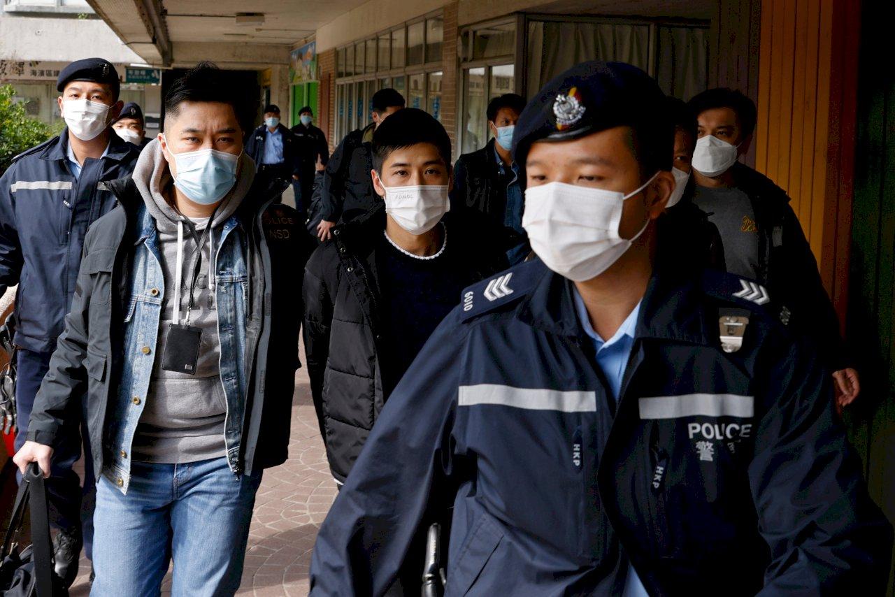 香港大抓捕 民進黨:對紅色恐怖、惡法治理感到最大憤怒