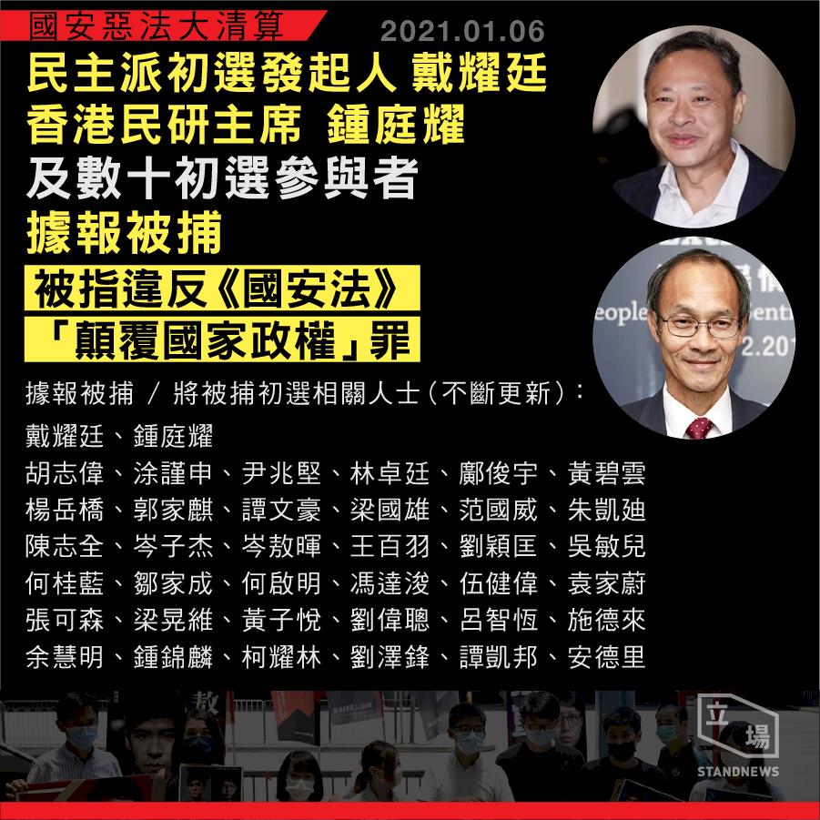 香港需要更多關懷  台灣美麗島政治犯這樣説