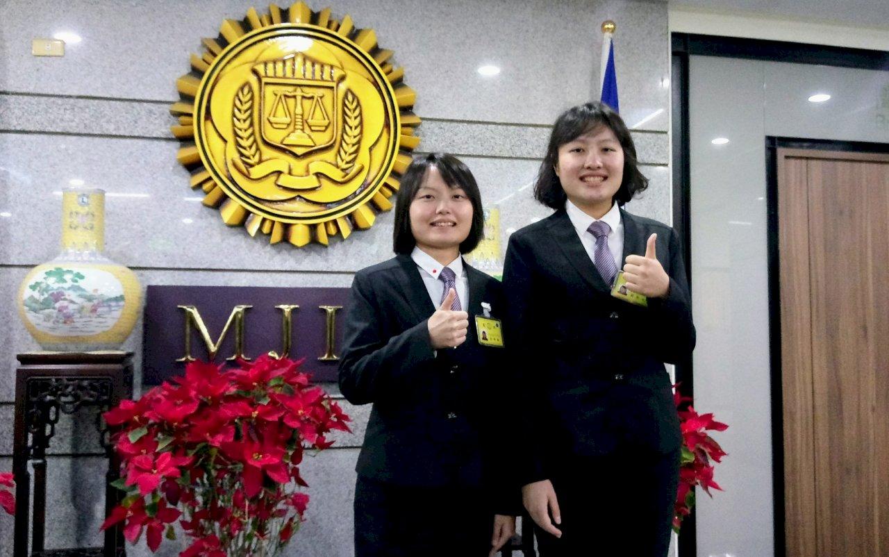 姊妹攜手錄取調查官 蔡總統期勉3個「務必」