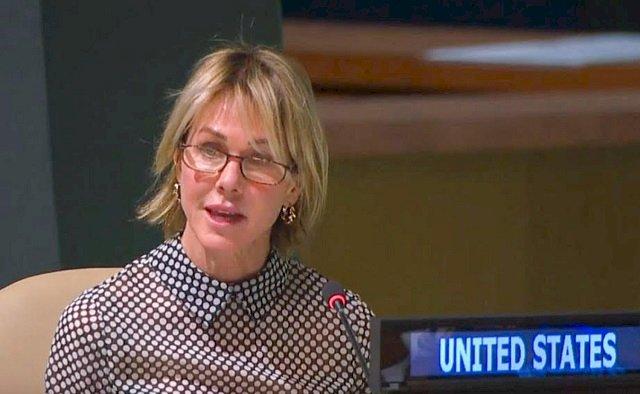 總統府歡迎美駐聯合國大使訪台 再次具體落實台灣旅行法