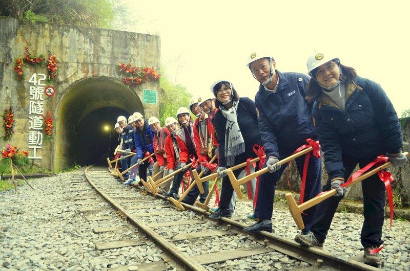 42號隧道動工  阿里山森鐵2023年通車