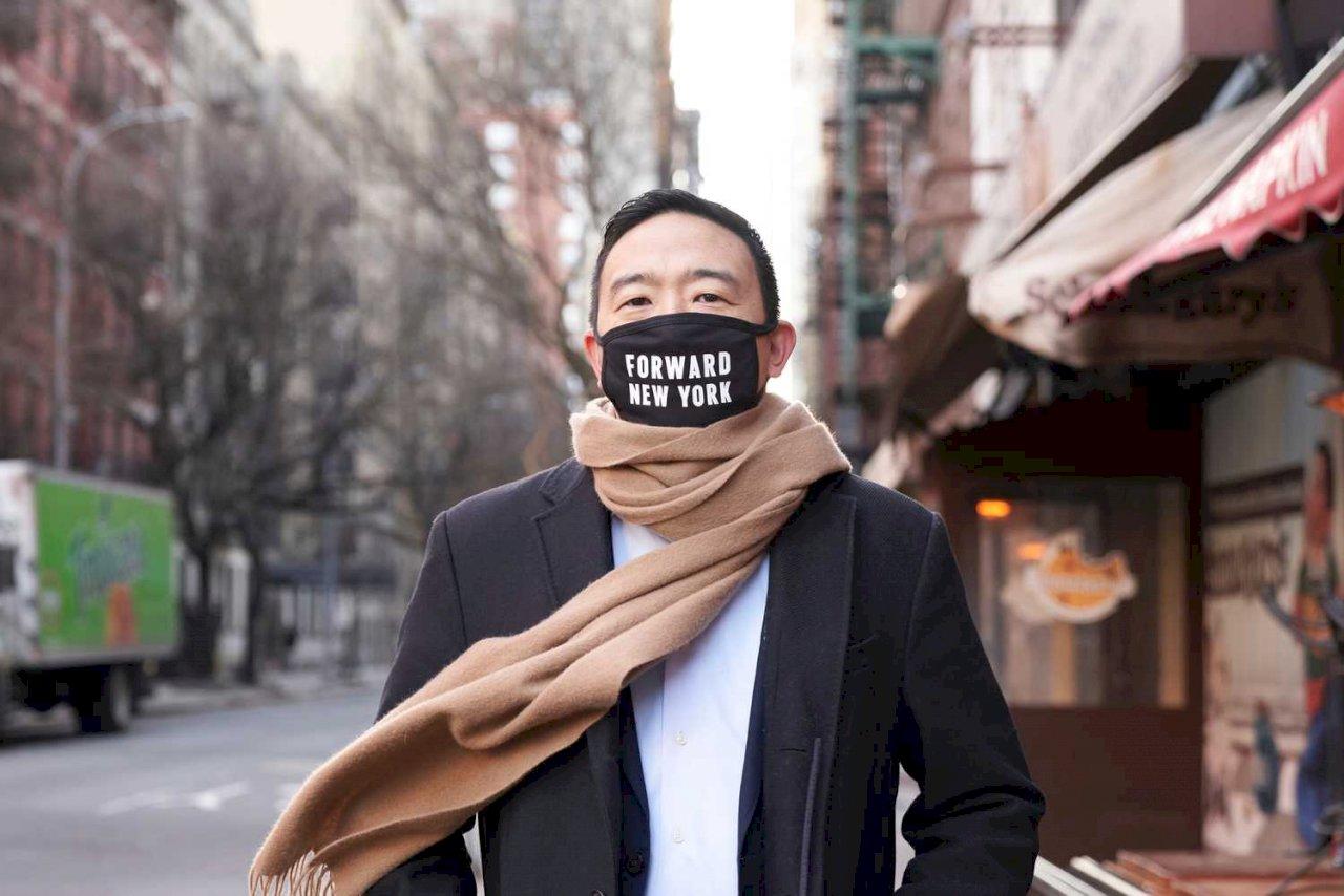 楊安澤投入紐約市長選戰 承諾濟貧打造公平社會