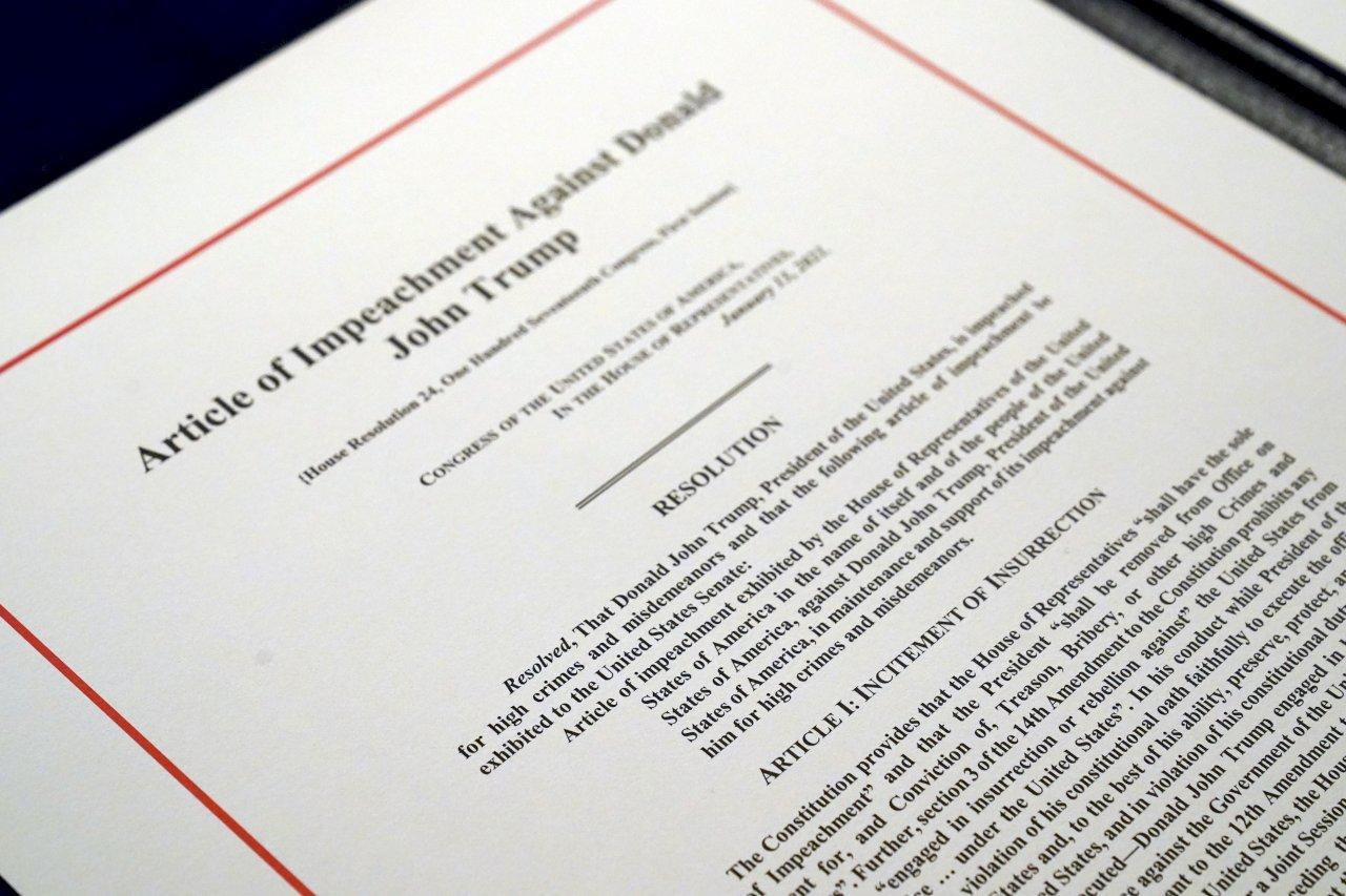 美史第一人 眾院通過第二度彈劾川普