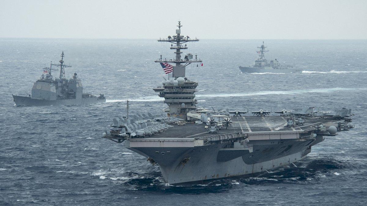 美日法擬聯合軍演 意在牽制中國