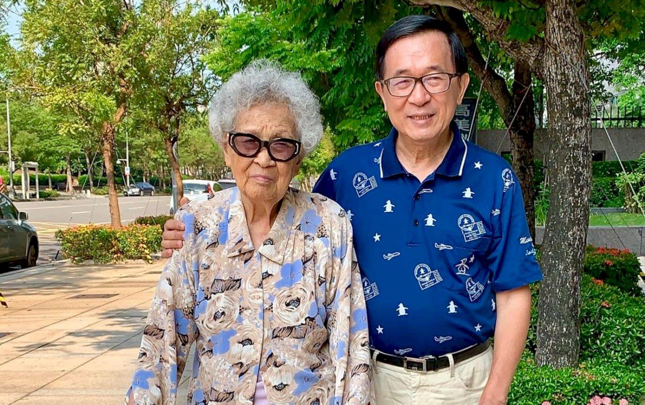 扁媽94歲病逝 蘇揆:她是慈祥長者 非常敬佩
