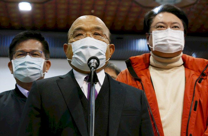 北部醫院群聚染疫擴大  蘇貞昌籲國人「一點都不能大意」