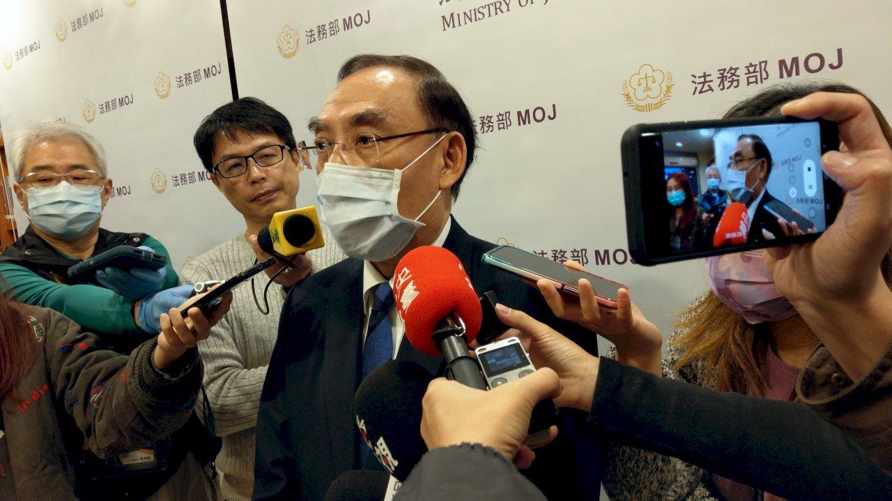 監察院退回法務部調查報告 蔡清祥:會檢討、補充