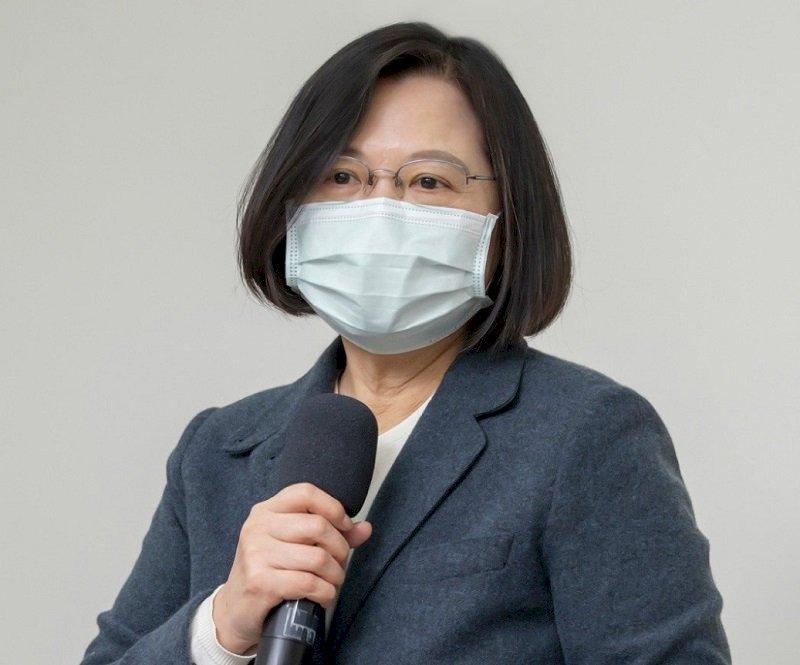 指揮中心滿週年 蔡總統:軍民同心捍衛疫情防線