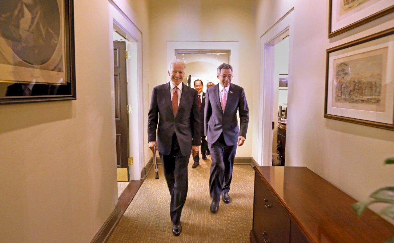 賀拜登就任 李顯龍:美國有力領導有助全球復甦
