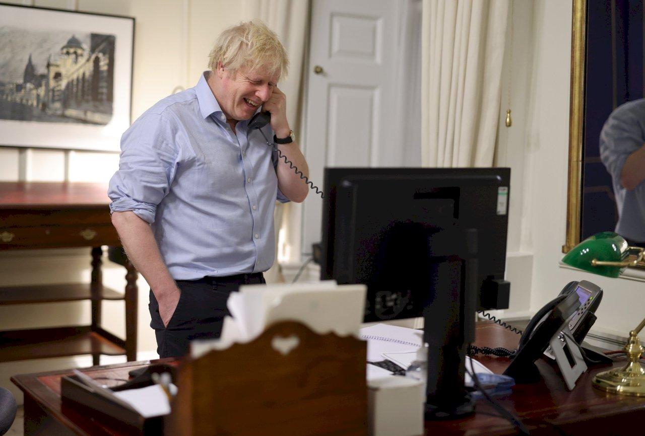 首位與拜登通話歐洲領導人 強生:深化美英同盟