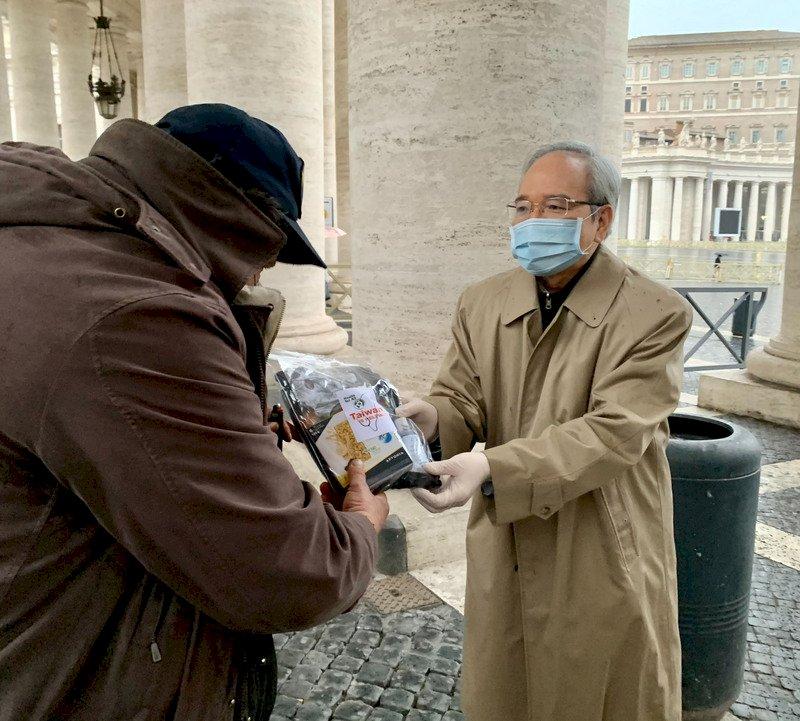 教宗慟梵蒂岡遊民凍死 駐教廷使館應援送暖