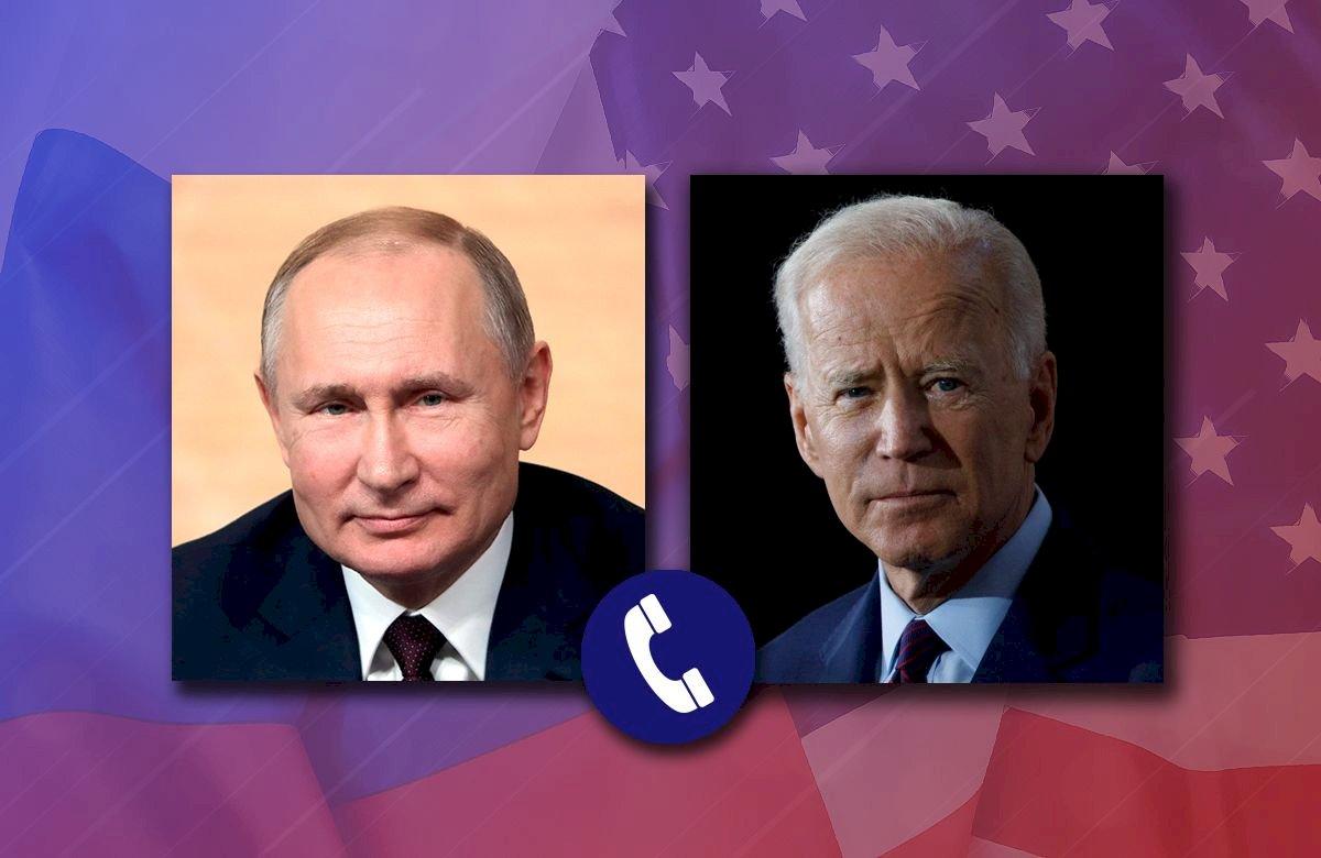 拜登蒲亭談烏克蘭局勢 提議第三國開峰會