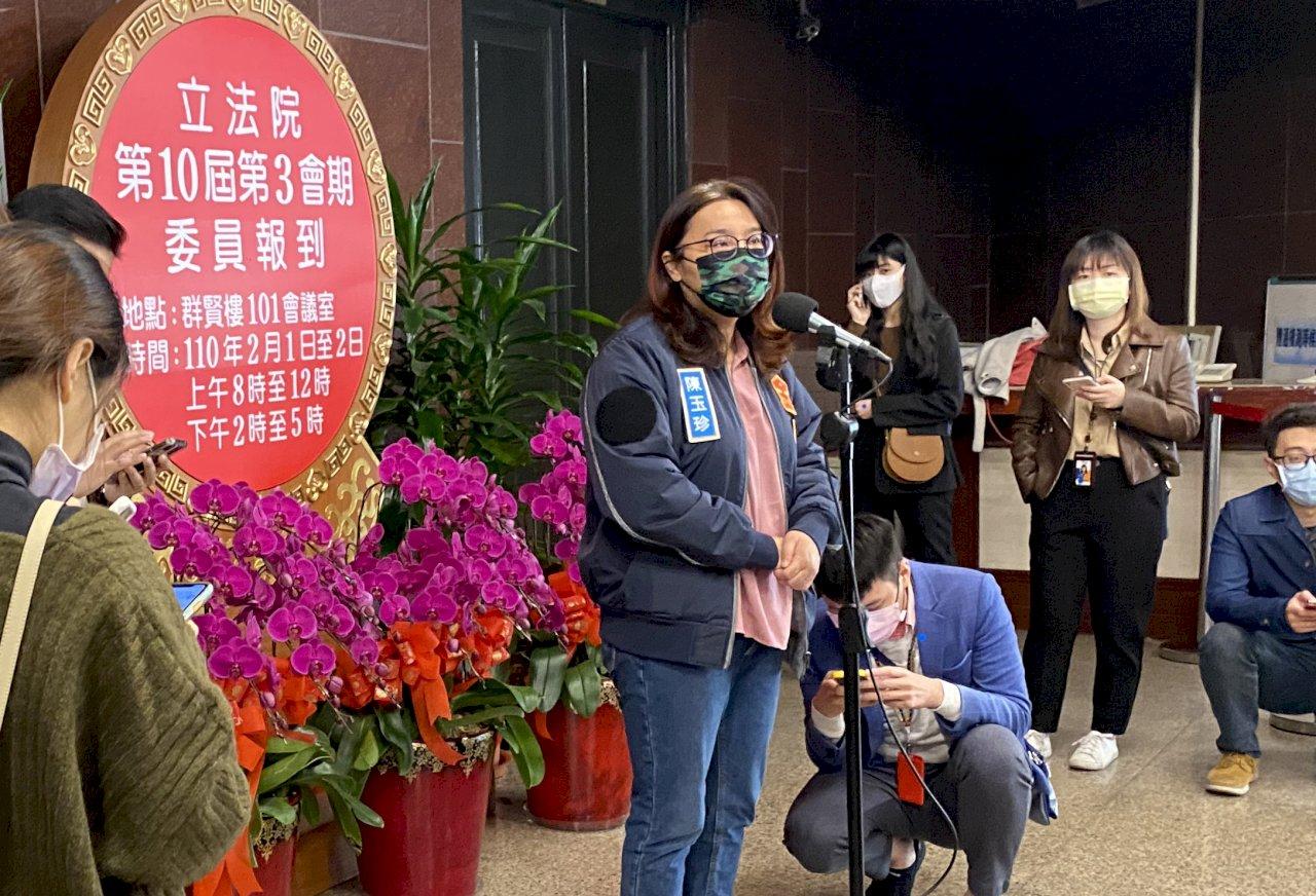 趙少康重返藍營 陳玉珍:對國民黨是加分