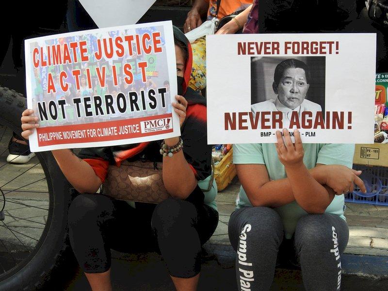 菲律賓反恐新法惹議 千人示威籲廢止