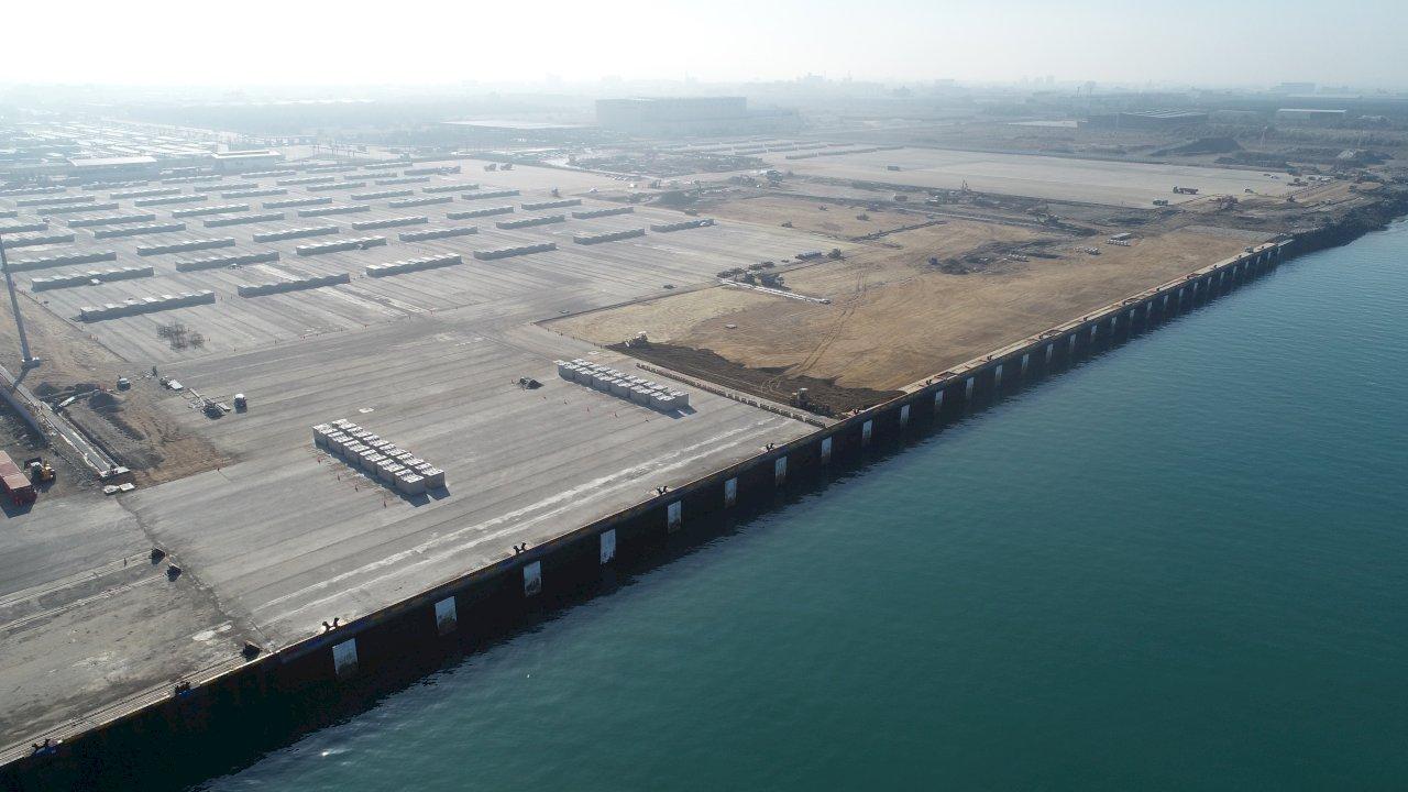 台中港離岸風電碼頭最後一塊拼圖 36號碼頭完工啟用