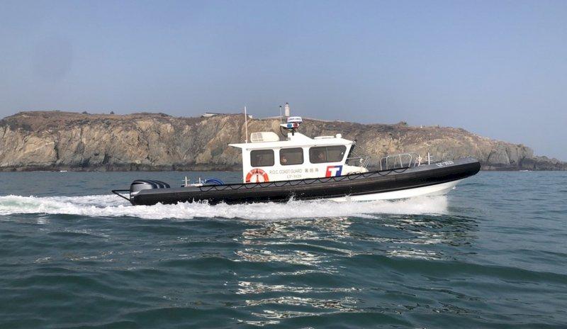 馬祖海巡增多功能快艇 提升海域執法效能