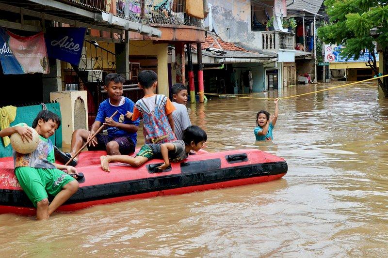 雅加達4成地區地層下陷 一夜豪雨再成災