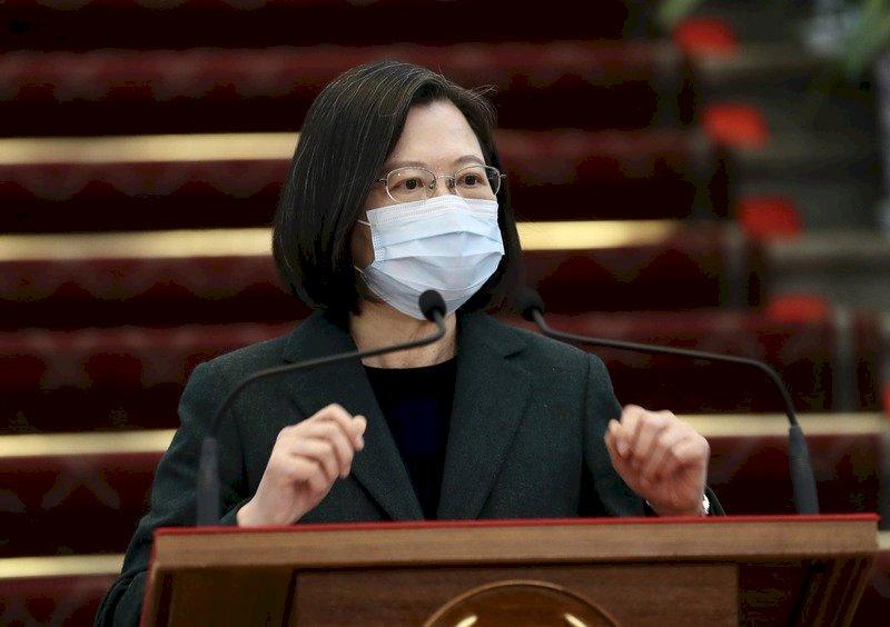 總統:和平鑰匙亦在中國手上 對台文攻武嚇無助兩岸關係