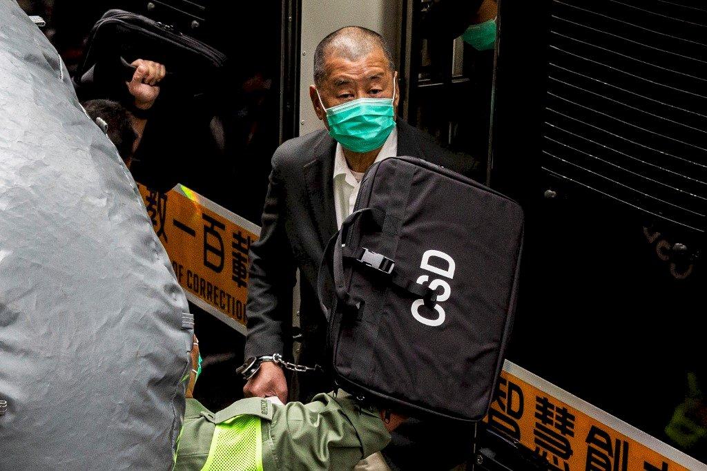 818反送中集會案 黎智英遭判刑12個月