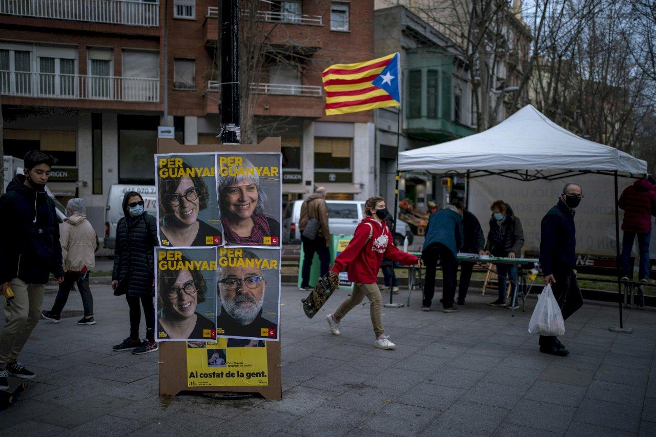 統獨拉鋸不敵疫情 加泰隆尼亞選舉落幕