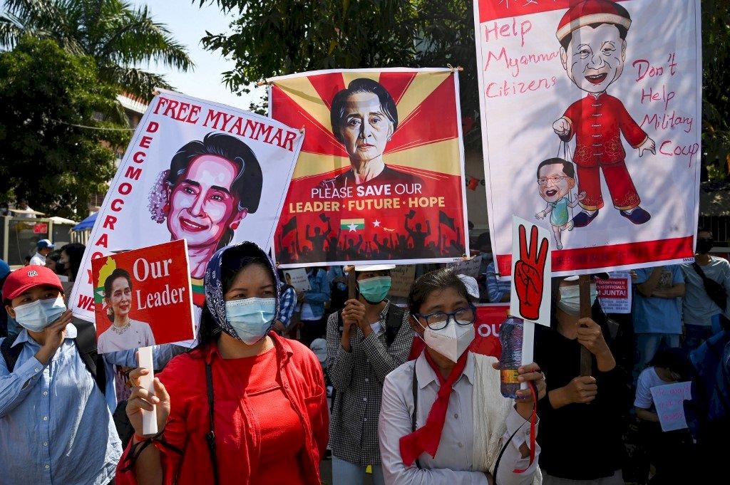 物以類聚 難怪中國那麼挺!與緬甸軍政權同質性高 中共甚至動用UN否決權挺緬軍人
