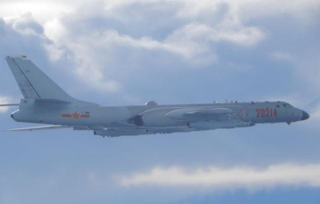 共軍運8反潛機擾台 空軍巡邏兵力應對