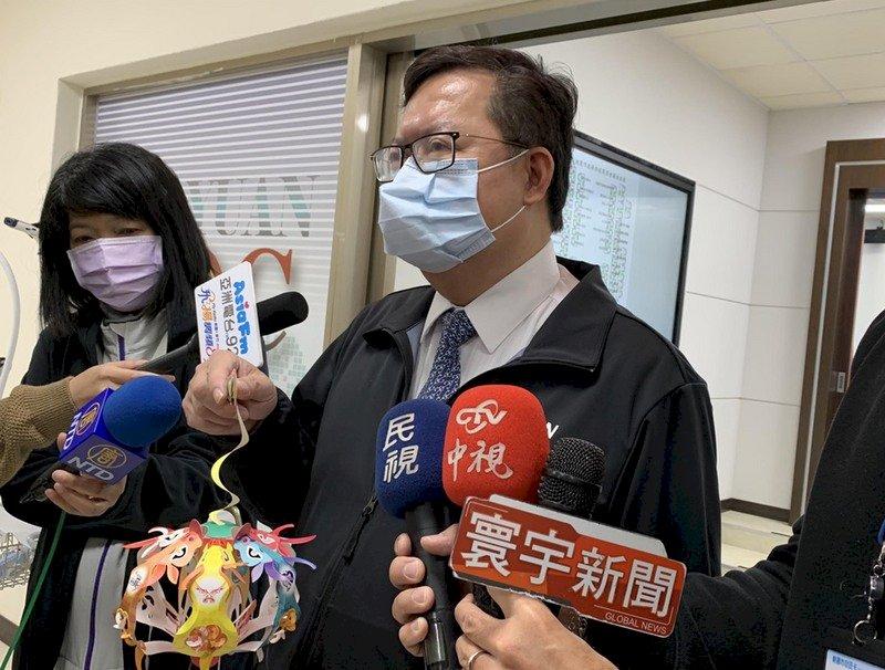鄭文燦:桃園醫院可望本週五恢復營運