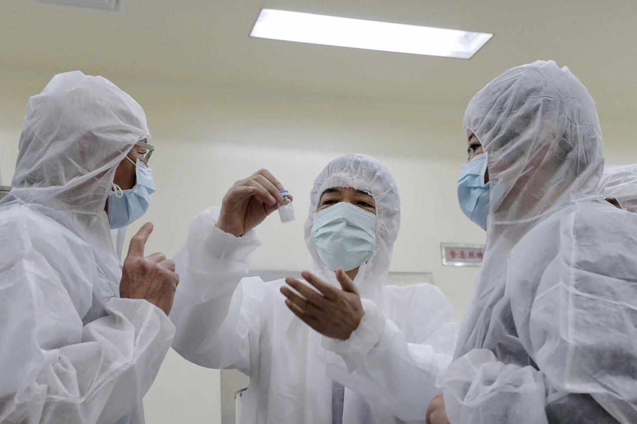 參訪疫苗研發製造公司 賴清德盼台灣打造疫苗護國神山(影音)