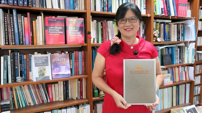 台灣第一人 邱美虹獲國際化學與化工傑出女性獎