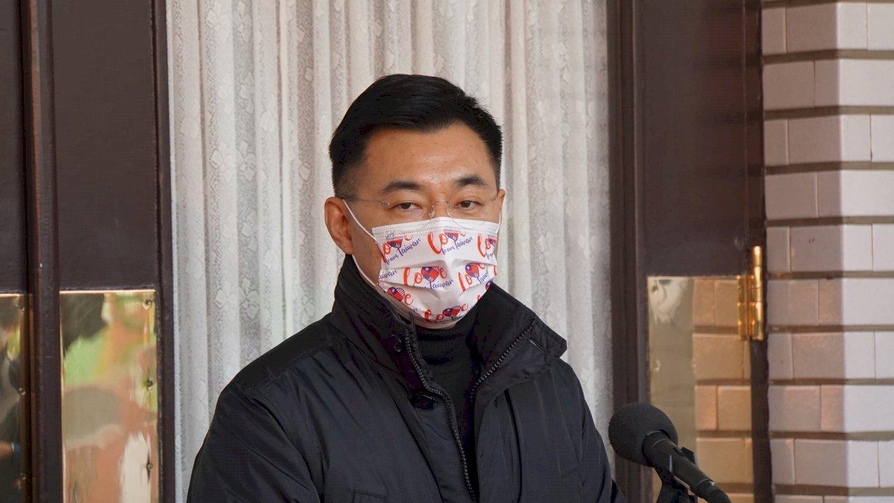 江啟臣:國民黨駐美代表處籌備中 駐美代表已有人選