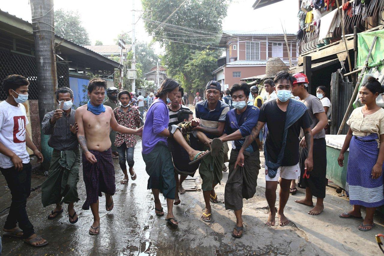 瓦城流血衝突嚴重死傷 聯合國譴責緬甸軍政府