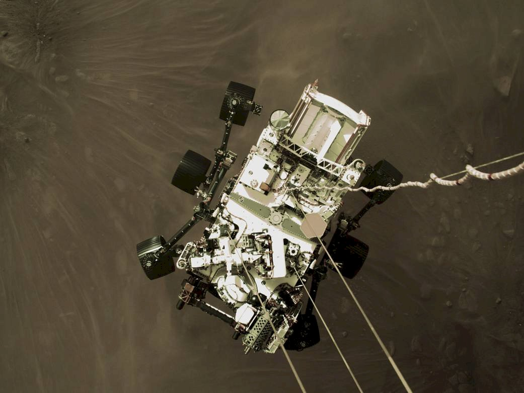來自火星的風聲!NASA公布毅力號首段音頻