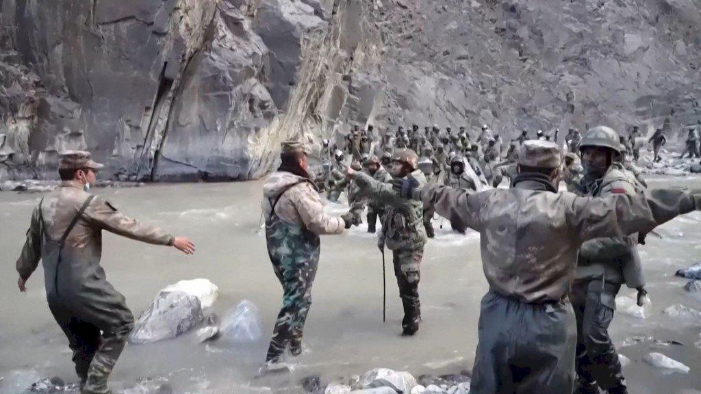 中國首度公布中印邊界衝突影片 指印度先動手