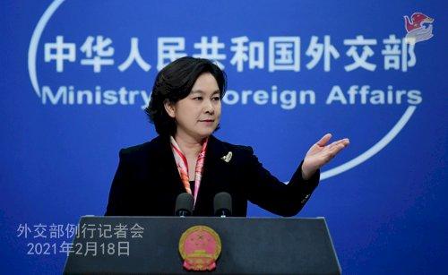 斷片?華春瑩反問媒體:為什麼中國人不可以用推特和臉書