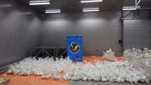 歐洲一舉查獲23噸古柯鹼 打破歷來紀錄