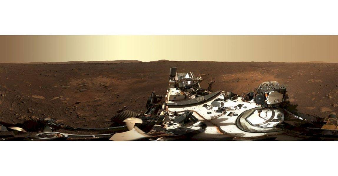 NASA公布火星360度全景 官網開放P圖自拍照