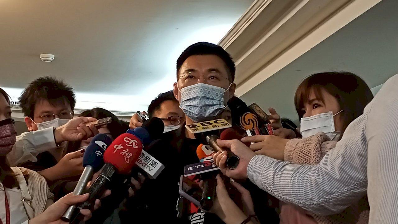 柯江同台 李乾龍:我有一點不開心 事情過了就好
