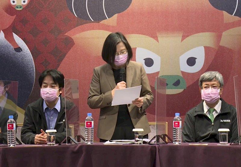 續任文總會長 總統:深植台灣人文化自信走向國際