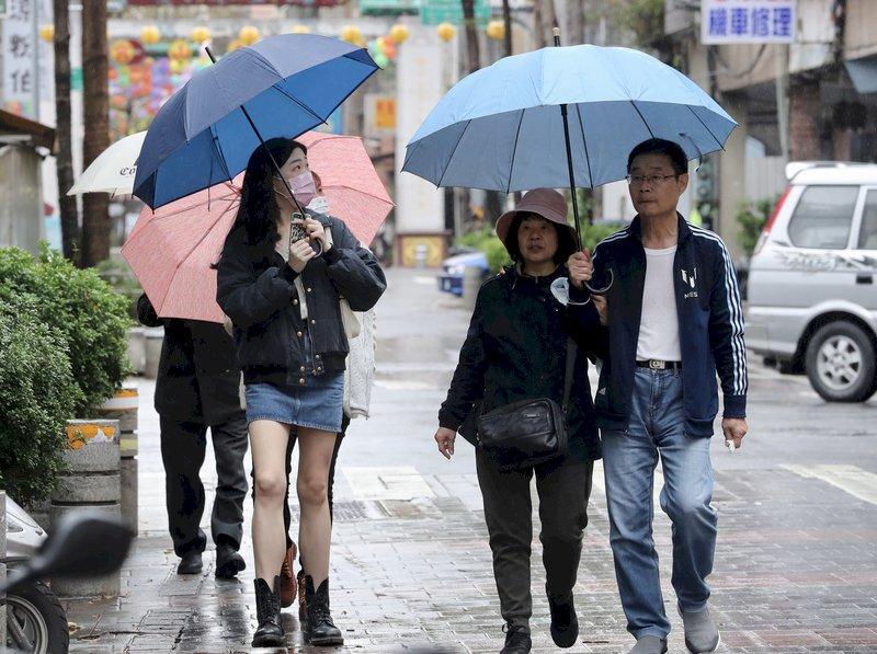 未來一週北台灣溫度起伏大 冷暖交替頻繁