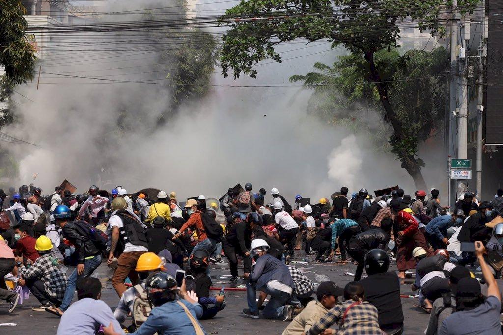 緬甸第二大城再傳開槍鎮壓 最少2死
