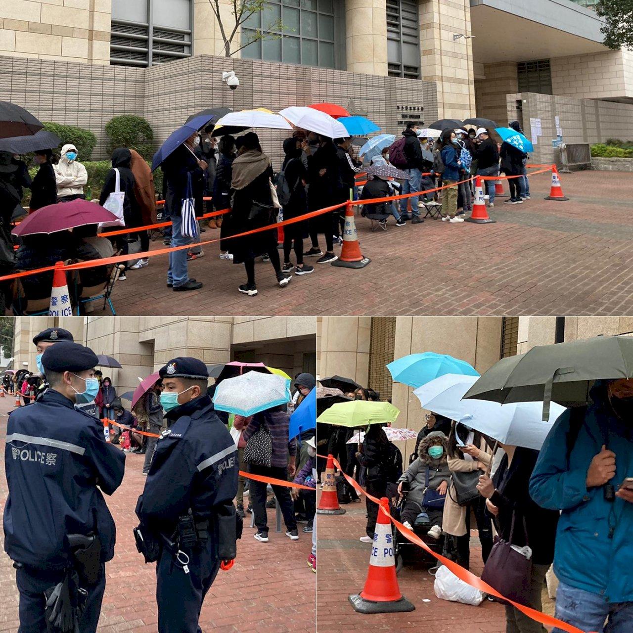 馬拉松式聆訊 香港泛民47人連續第四天受審