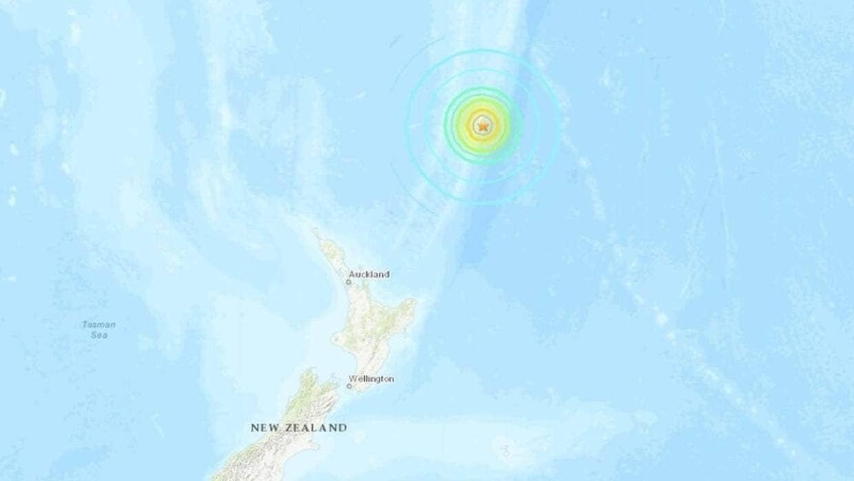 太平洋海嘯中心全區示警 紐西蘭強震後急撤居民