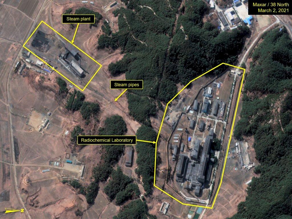 新衛星照片顯示 北韓可能試圖提煉鈽