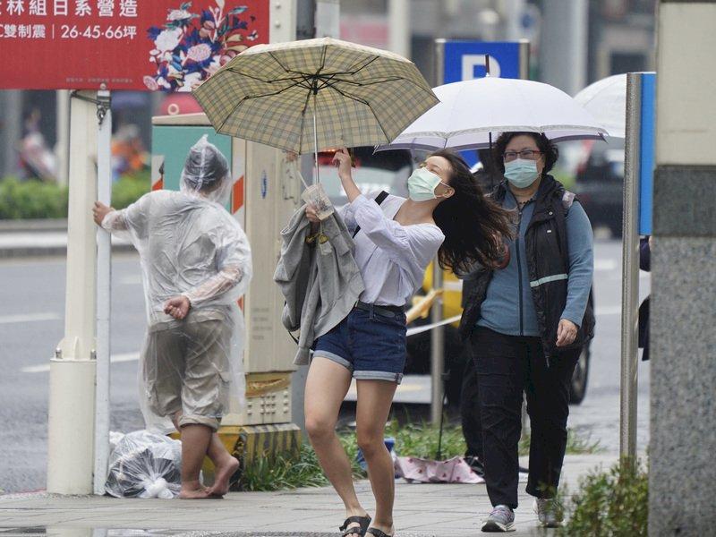 未來一週2波東北季風 預估北台灣高溫18度