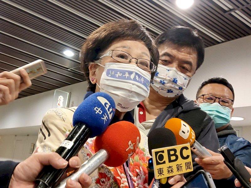 呂秀蓮:父權界定兩岸關係 女性覺醒定位台灣走向