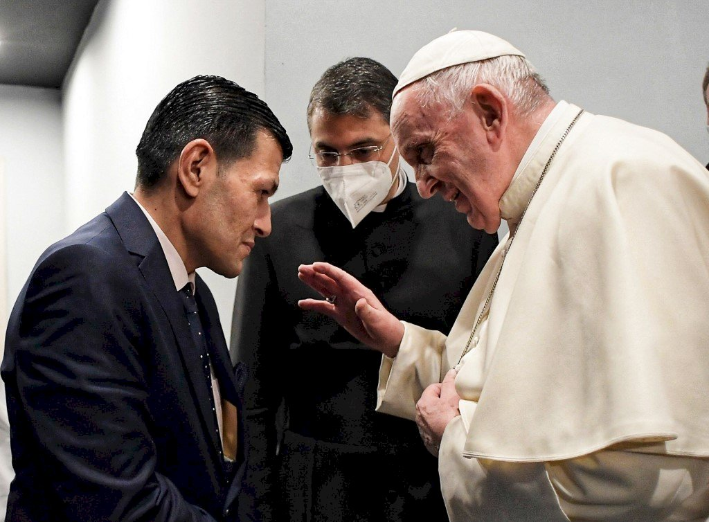 教宗會見敘利亞伏屍沙灘男童父親 聆聽難民心聲