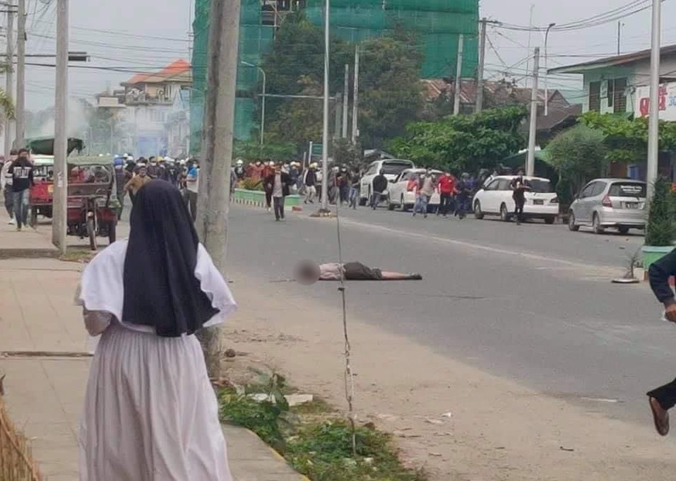 緬甸民眾響應罷工發動街頭抗議 軍警鎮壓2死3傷