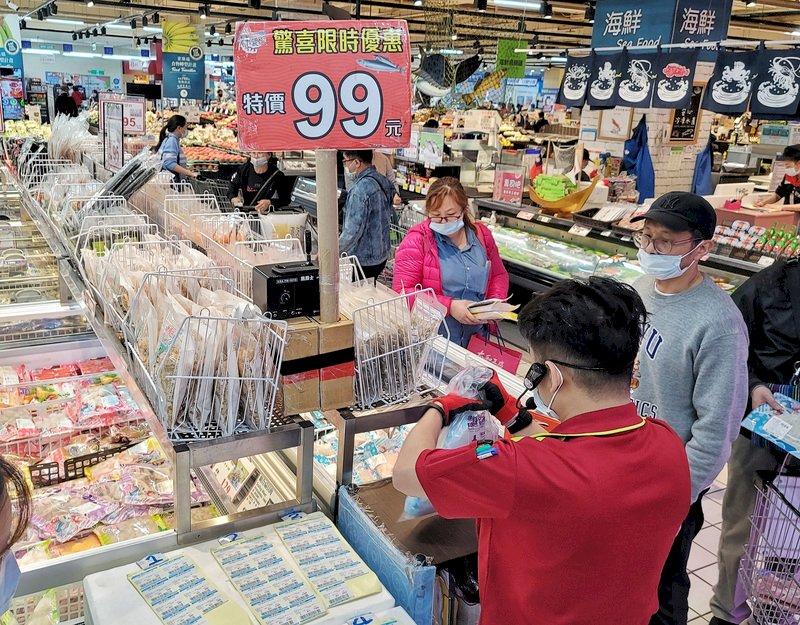 3月批發營收首破兆 零售單月營收回到疫情前水準